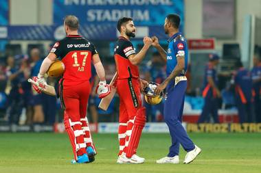 Ipl 2020 Rcb Vs Mi Royal Challengers Bangalore Beats Mumbai Indians In Thrilling Super Over Sportstar