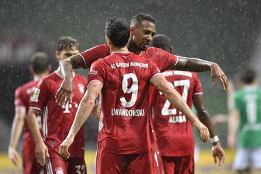 Champions League Highlights Bayern Marches Into Quarterfinal With