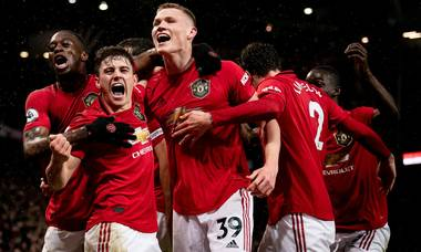 Image result for MAN UTD BEAT MAN CITY THANKS TO MARTIAL AND McTOMINAY GOAL