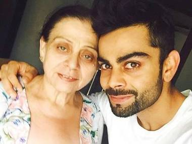 Kohli Mother Is God S Biggest Blessing Sportstar