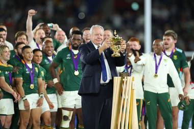 Rugby World Cup 2019 Chairman Bill Beaumont Commends Japan Sportstar