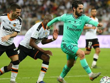 Real Madrid Dominant In 3 1 Super Cup Win Over Valencia Sportstar